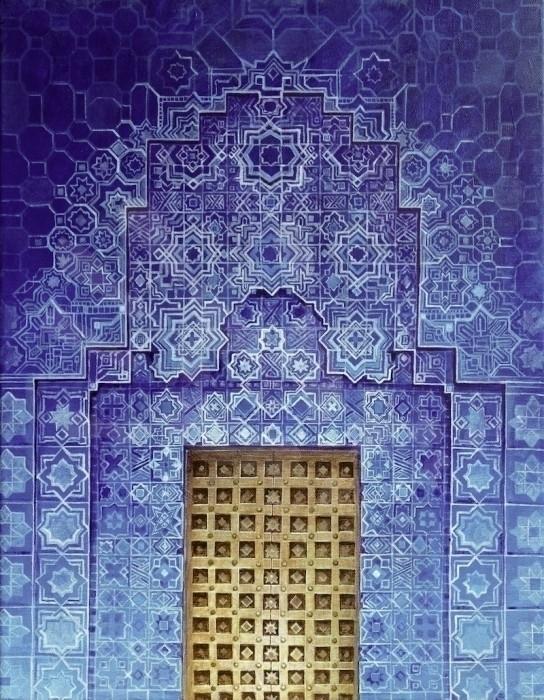 Blue Door: Morocco