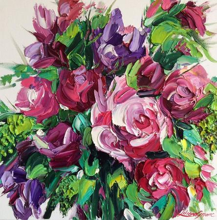 Thumb roses delight liliana gigovic bluethumb art