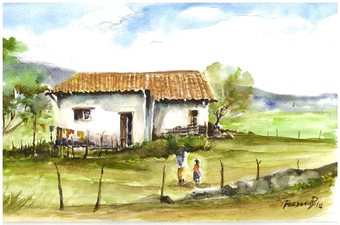 House in the Andes | La casa de Aida